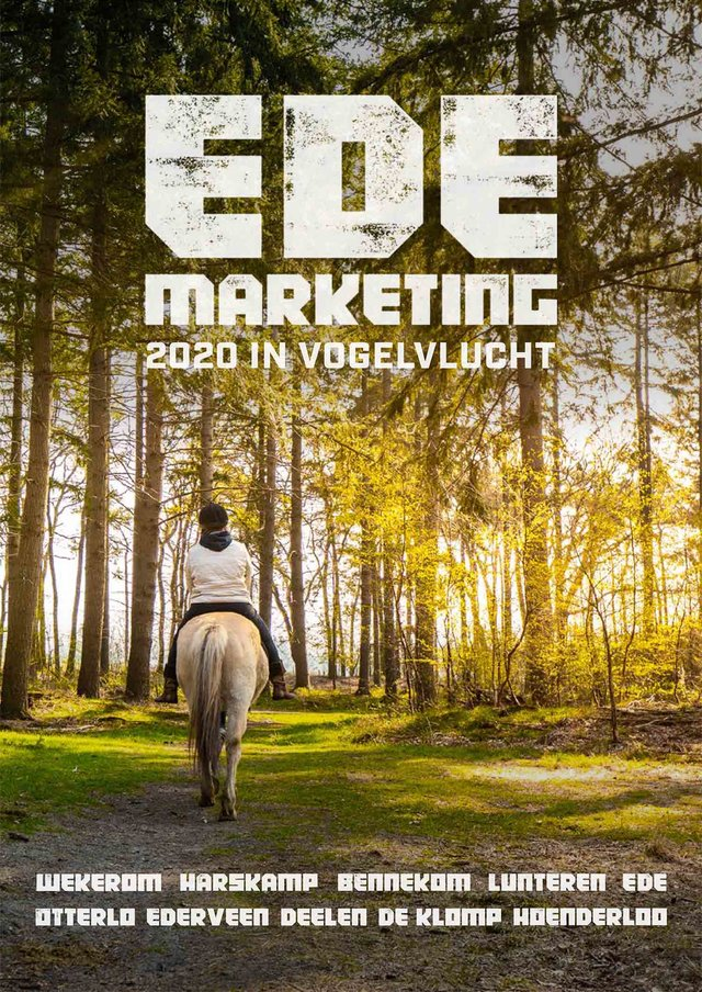 Jaarverslag 2020 Ede Marketing